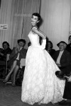 Audrey Hepburn wearing a Givenchy gown in 1959