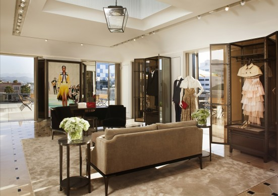 burberry new store concept rodeo drive beverly hills - Furniture Stores In Miami Design District