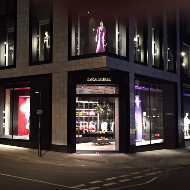 dsquared store in london