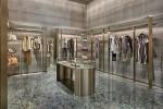 Giorgio Armani newly renovated store Via Montenapoleone