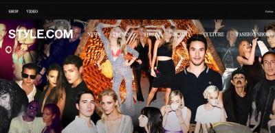 Condé Nast to turn Style.com into a global e-commerce platform