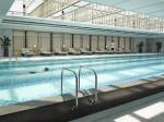 Swimming pool at Jing An Shangri-la Shanghai