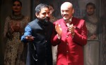 Christian Louboutin with Sabyasachi Mukherjee at 2015 India Couture Week
