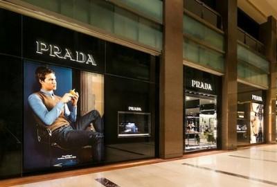 Prada store Jakarta, Pacific Place Mall