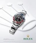 Rolex print advertising