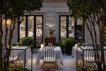 Mandarin Oriental, Milan - 'Seta' fine dining (courtyard)