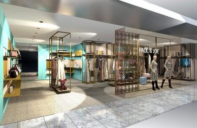 Paul & Joe new retail design concept
