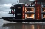 Aria Amazon floating luxury hotel on the Amazon River