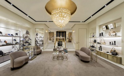 Jimmy Choo reopens Paris flagship store after renovations