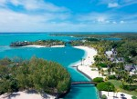 Shangri-La Le Touessrok Resort & Spa, Mauritius - aerial view