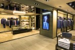 Hugo Boss store London, New Bond St. (new retail concept 2015)