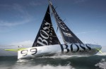 Hugo Boss racing yacht