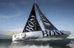 Hugo Boss racing yacht