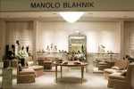 Manolo Blahnik in-store at Saks Fifth Avenue, New York