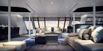 Ottantacinque mega yacht (interior) by Ficantieri and Pininfarina
