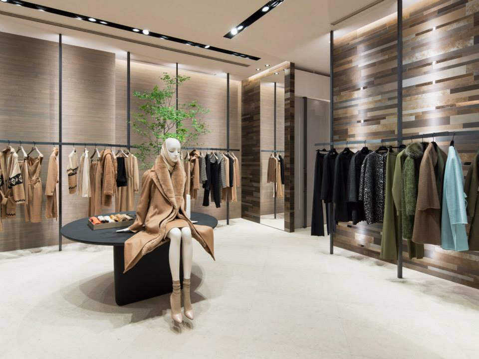 max mara opens renovated store in aoyama tokyo cpp luxury. Black Bedroom Furniture Sets. Home Design Ideas