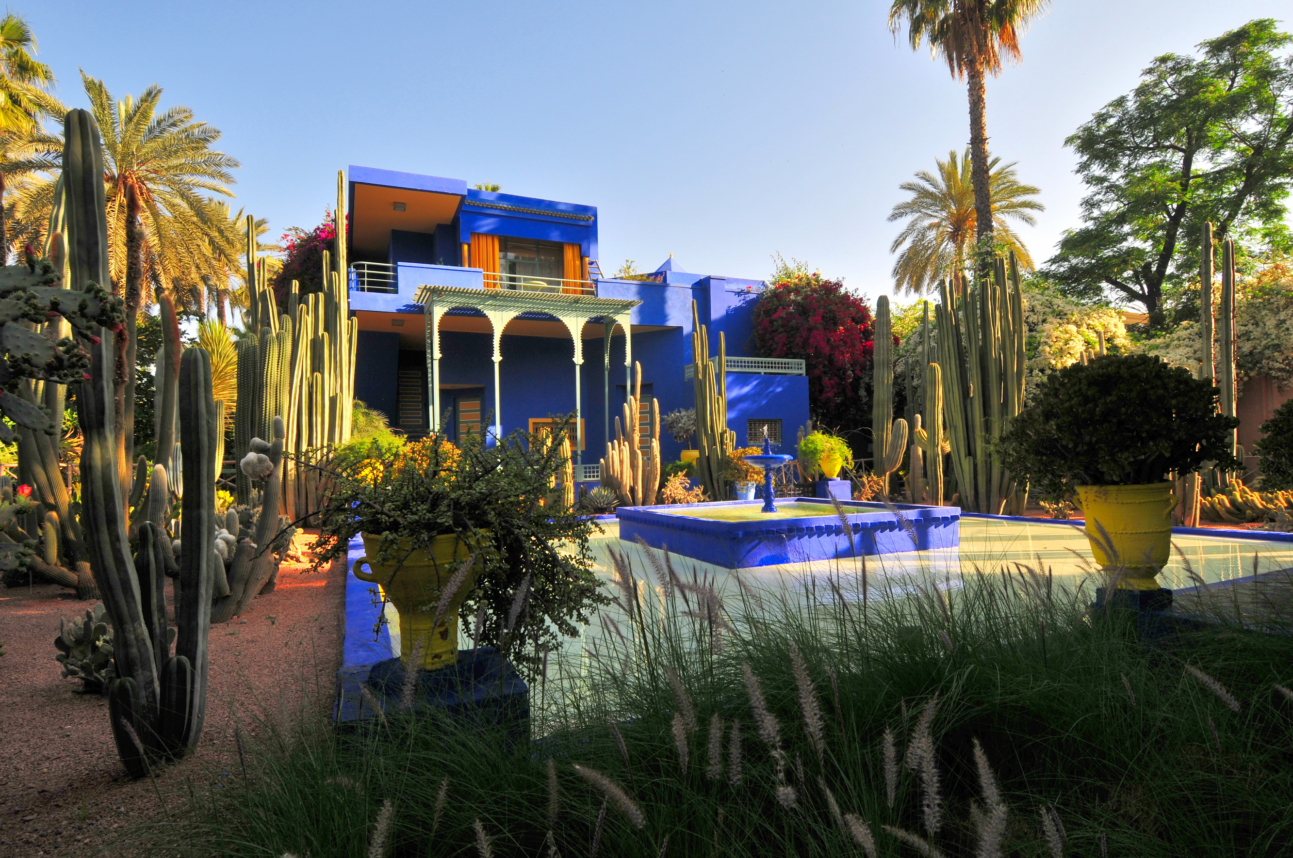La villa majorelle yves saint laurent marrakech cpp luxury for Jardin ysl marrakech