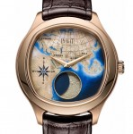 Piaget 'Secrets & Lights' - Emperador Coussin XL Large Moon Enamel #watchesandwonders