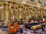 Newly renovated The Palace Hotel, San Francisco - lobby