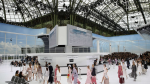 Chanel airport themed Spring Summer 2016, Paris at Grand Palais