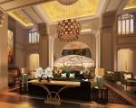 Royal Savoy Hotel, Lausanne - lobby