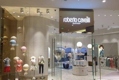 Roberto Cavalli Junior store Hong Kong