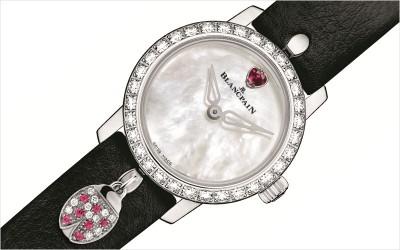 Blancpain's new Ultra-Slim Ladybird Ruby
