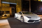 Lamborghini satellite showroom Singapore at Suntec