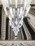 Excelsior Gallia Hotel, Milan - staircase with DeMajo chandelier