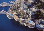 Fairmont Monte Carlo - aerial view