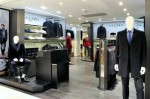 Azzaro Homme corner at Galeries Lafayette in Paris