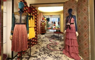 Gucci opens at Bergdorf Goodman, New York