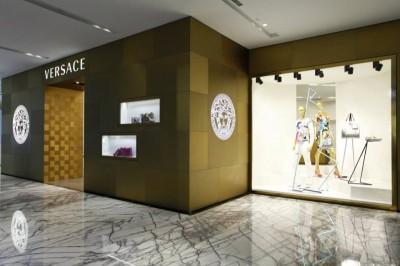 Versace store Shanghai