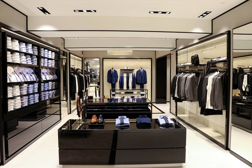 hugo boss opens new store in florence cpp luxury. Black Bedroom Furniture Sets. Home Design Ideas