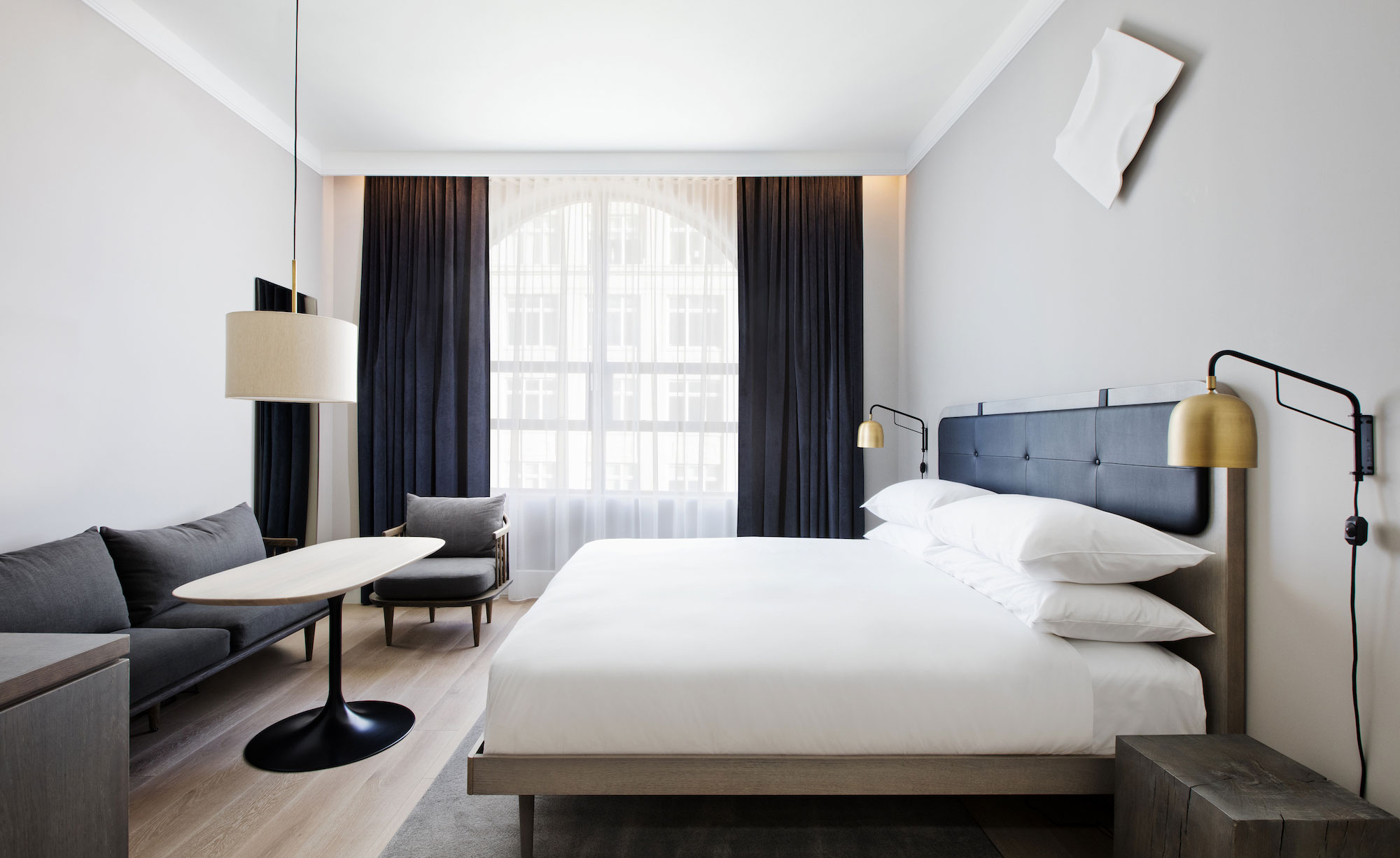 11 howard latest contemporary luxury hotel opens in soho for W hotel bedroom designs