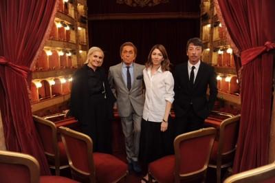 Valentino Garavani, Sophia Coppola, Maria Grazia Chiuri and Pierpaolo Piccioli