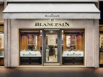 Blancpain newly reopened boutique Cannes