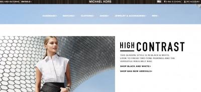 Michael Kors e-commerce