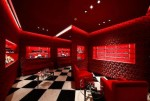 Red Salon at the new Prada store at Plaza 66 Shanghai