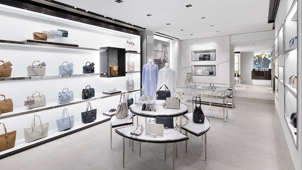 michael kors opens new store in venice italy cpp luxury. Black Bedroom Furniture Sets. Home Design Ideas