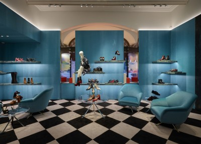 Prada opens new store in Moscow at GUM