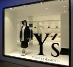 Yohji Yamamoto  Y's store Hong Kong at Causeway Bay