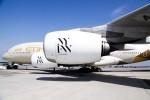 Etihad Airways NYFW livery