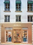 Furla new store in Paris on Rue Saint Honore