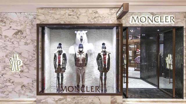 moncler shop como