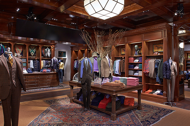 polo ralph lauren opens flagship store in london cpp luxury. Black Bedroom Furniture Sets. Home Design Ideas