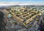 Anantara Al Jabal Al Akhdar - Aerial view