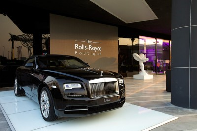 Rolls-Royce Motor Cars debuts its first ever 'Rolls-Royce Boutique' in Dubai