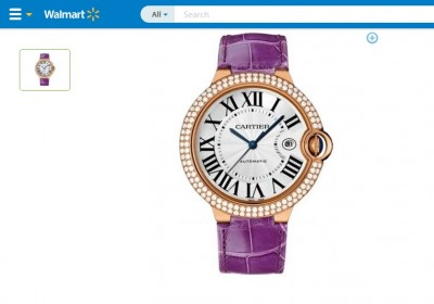 Cartier available at Walmart?