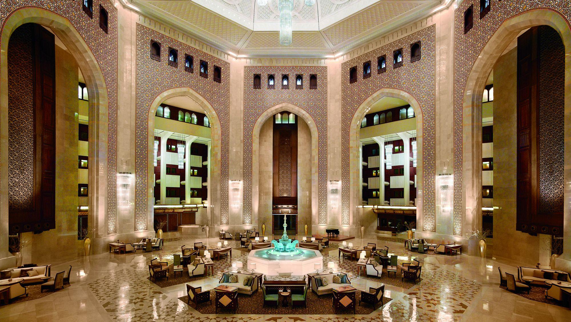 al bustan palace a ritz carlton hotel to undergo